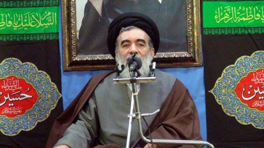 سخنران دفتر حضرت آیت الله محمد فاضل لنکرانی قدس سره در مراسم ششم ماه محرم 1433حجت الاسلام حسینی خراسانی