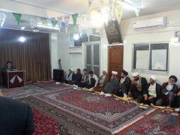 مراسم دهه کرامت با حضور علما در مرکز فقهی