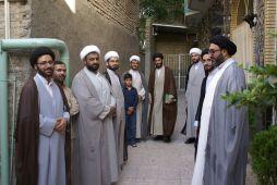 دیدار دانش پژوهان مرکز تخصصی مذاهب اسلامی با آیت الله شیخ محمد سند