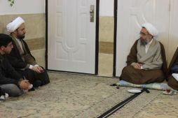 دیدار طلاب مرکز تخصصی مطالعات تطبیقی مذاهب اسلامی مشهد با آیت الله شیخ جواد مروی