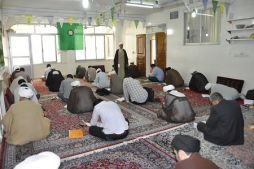 آزمون کتبی رشتهی مذاهب اسلامی در مشهد مقدس برگزار گردید
