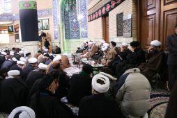 مراسم عزاداری و سوگواری شهادت امام حسن مجتبی(ع) در مرکز فقهی ائمه اطهار(ع) برگزار شد