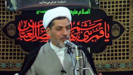 سخنرانی دکتر رفیعی در دفتر آیت الله العظمی محمد فاضل لنکرانی قدس سره (شب اول ماه محرم)