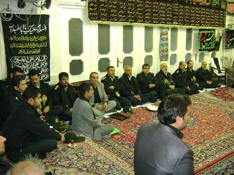 Mourning Ceremony of Imam hussain(a.s.) in the Office of Late Grand Ayatollah Muhammad Fazel Lankarani (4th of Muharram1434)