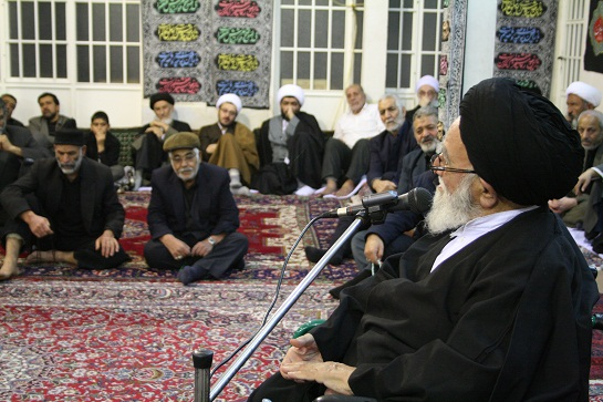 Mourning Ceremony of Imam hussain(a.s.) in the Office of Late Grand Ayatollah Muhammad Fazel Lankarani (10th of Muharram1434) Ashura Afternoon