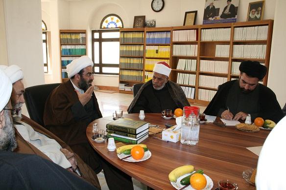 Ayatollah Lankarani meets with al-Azhar scholar