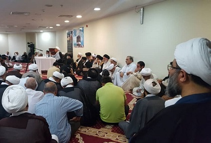 برگزاری مراسم سنواتی سوگواری در عزای شهادت امام باقر (ع) در مکه مکرم توسط دفتر حضرت آیت الله فاضل لنکرانی