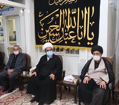 برگزاری مراسم سوگواری اربعین حسینی در دفتر آیت الله العظمی فاضل لنکرانی(قدس سره)