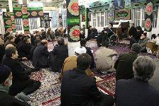 مراسم سوگواري اباعبدالله الحسين دهه اول محرم در بيت مرجع فقيد با حضور حضرت استاد