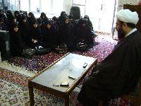 سخنراني معظم له در جمع خواهران ممتاز حوزههاي علميه خراسان شمالي