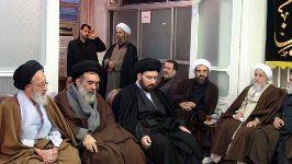 مراسم در دفتر حضرت آیت الله محمد فاضل لنکرانی قدس سره (ششم ماه محرم 1433)