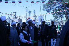 حضور در راهپیمایی 22 بهمن