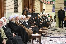 مراسم عزاداری و سوگواری شهادت امام حسن مجتبی(ع) در مرکز فقهی ائمه اطهار(ع)  7 صفر 1434