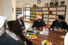 دیدار عالم الازهر مصر جناب شیخ تاج الدین الهلالی با معظم له