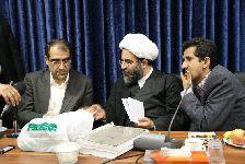 دیدار وزیر بهداشت و درمان با آيت الله فاضل لنکراني و  مرکز فقهي ائمه اطهار(ع)