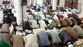 سخنرانی حضرت آيت الله فاضل لنکراني(دامت برکاته) در جمع معتکفین مسجد اعظم قم