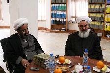 دیدار با رئيس هيئت علماي اهل سنت عراق