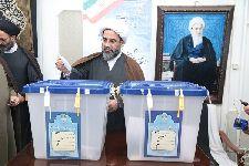 شرکت معظم له در انتخابات مجلس خبرگان رهبري و مجلس شوراي اسلامي