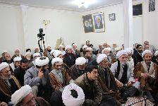 دیدار علماء و اساتید حوزه علمیه تبریز با معظم له