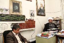 ديدار با رئیس و معاونان جهاددانشگاهی واحد استان قم
