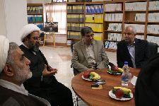 ديدار با دکتر جنتي، وزير فرهنگ و ارشاد اسلامي