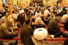 مراسم شب سوم مرحوم آقاي حاج حسن (موحدي) فاضل لنکراني