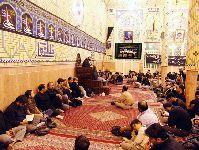 شب نوزدهم ماه مبارک رمضان، تکيه آسيد حسن