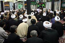 مراسم سوگواري در دفتر حضرت آیت الله العظمي فاضل لنکرانی قدس سره (فاطمیه 1431)