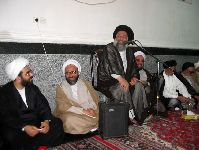 شرکت در مراسم اختتاميه حوزههای علميه اهواز به دعوت حضرت آيت الله موسوی جزائری