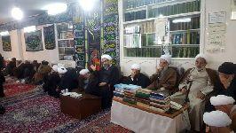 مراسم عزاداری اربعین حسینی در دفتر حضرت آیت الله فاضل لنکرانی مشهد مقدس با حضور معظم له