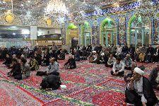 حضور در مسجد حضرت آیت الله سلطانی خوانساری اراک