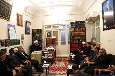 دیدار مهندس اسماعیل نجار، معاون وزير کشور و رئیس سازمان مدیریت بحران کشور با معظم له