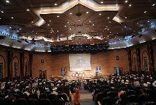 برگزاري «همایش فاطمی» با اجتماع بیش از 1000 نفر از اساتید و طلاب و کارکنان مرکز فقهی ائمه اطهار(علیهمالسّلام) و همسران آنان