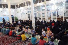 ضيافت افطار در جمع فرزندان تحت پوشش مراکز بهزيستي