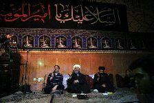 مراسم احياي شب قدر (شب 21) در تکيه آسيدحسن