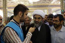 سخنراني در جمع معتکفین مسجد مقدس جمکران