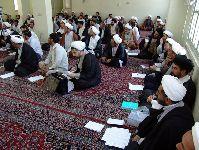 کلاس درس در مدرسه آيت الله گلپایگانی(قده)