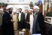 دیدار آقای دکتر روحانی با معظم له
