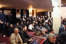 اولين سالگرد ارتحال مرجع فقيد آیت الله العظمي فاضل لنکرانی(ره) در مسجد همت تجريش تهران
