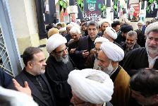 مراسم دوازدهمین سالگرد ارتحال حضرت آیت الله العظمی فاضل لنکرانی(قدس سره) در مسجد أعظم قم