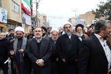 حضور معظم له در راهپيمایی 22 بهمن