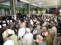 مراسم دوازدهمين سالگرد ارتحال حضرت آیت الله العظمی فاضل لنکرانی(قده) در کابل افغانستان