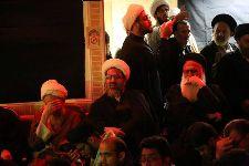 حضور معظم له در مراسم سومين سالگرد ارتحال آيت الله العظمي حاج سيد محمد باقر خوانساري(ره)