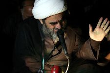 مراسم احياي شب قدر (شب 23) توسط معظم له در تکيه آسيدحسن قم