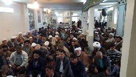 جشن عيد سعيد مبعث در دفتر مشهد با حضور معظم له