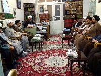 ديدار جمعی از ائمه جماعات فعال در امور مساجد شهر قم با معظم له