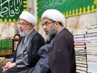 دبدار با متولي شرعی حرم مطهر امام حسين(ع)؛ شيخ عبدالمهدی کربلايی