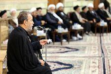 مراسم عزاداری شهادت امام حسن مجتبی(ع) در مسجد مرکز فقهی ائمه اطهار(ع)