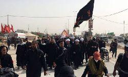حضور معظم له در راهپیمایی عظیم اربعین حسینی از نجف تا کربلا- صفر المظفر 1440