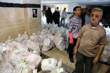 مرحله دوم کمکهای حضرت آیت الله فاضل لنکرانی(دامت برکاته) به چند شهر سیل زده خوزستان